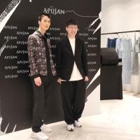 國際品牌APUJAN登入台北信義微風 詹朴與李英宏的時尚音樂衝撞
