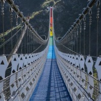 Highest, longest suspension bridge in Taiwan now open