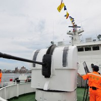 8 Taiwanese Coast Guard ships outfitted with 40mm guns