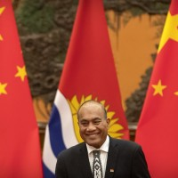 Pro-China president of Kiribati re-elected in blow to Taiwan