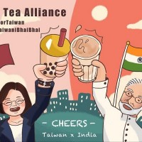 Photo of the Day: New Taiwan-India Milk Tea Alliance