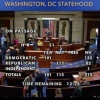 【史上首次】美國眾議院表決通過 華府成為「第51州」法案