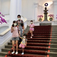 Taiwan Presidential Office reopens to public