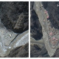 Satellite images show buildup on disputed India-China border