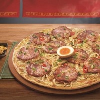 Pizza Hut Taiwan launches 'world's first ramen pizza' today
