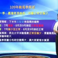反聖嬰年 台灣氣象局:預估會有3到5個颱風侵台