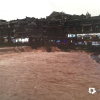 Ancient town on tributary of China's Three Gorges flooded