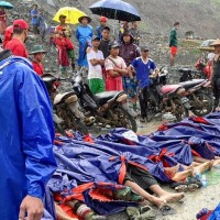 Landslide at Myanmar jade mine kills at least 113 people
