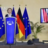 冷處理港版國安法 德國總理:歐盟與中國將保持對話