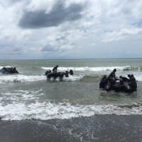 Three Taiwan Marines in critical condition after dinghy capsizes during drills