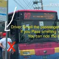 Video shows Taiwanese bus driver sniff migrant workers for perfume