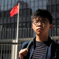 Joshua Wong compares Hong Kong's situation to Taiwan's 'White Terror'