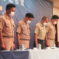 Taiwanese Navy rules out human, mechanical error in marine training accident