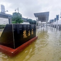 Red alert issued in Wuhan as floodwaters rise