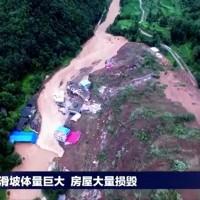 中國南方豪雨成災 湖北貴州走山埋屋已知8死