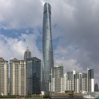 Video shows Shanghai Tower spring massive leak
