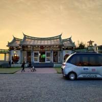 台灣首輛「自駕小巴」9月底前在鹿港免費載客 結合旅遊觀光、挑戰世界最長路線