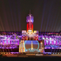 Taiwan's Presidential Office Building light show wins Red Dot Design Award