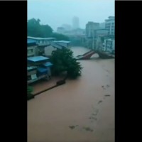 Videos show massive flooding in Chongqing, upstream of Three Gorges Dam