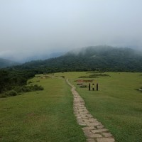Hike scenic route on Taipei's Yangmingshan