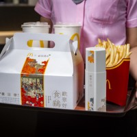 台灣麥當勞攜手故宮推古風分享盒 吃炸雞加贈限定版桌遊