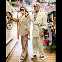 Photo of the Day: Dapper Taiwanese oldsters sport 'latest' in fashion
