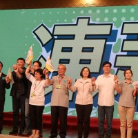 President Tsai attends DPP rally for mayoral candidate in S. Taiwan