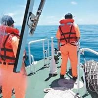Chinese sand dredger sinks killing 4, choppers cross Taiwan Strait's median line