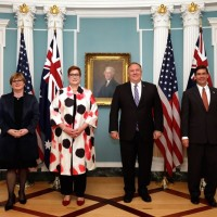 US, Australian officials reaffirm Taiwan's role in Indo-Pacific