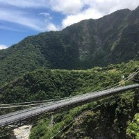 Mountain-Moon Bridge in Taiwan's Taroko Gorge to open on trial basis