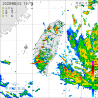 快訊!颱風哈格比海上警報持續增強 氣象局發布三縣市豪雨特報