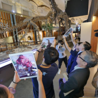 Taiwan National Museum launches AR dinosaur tours