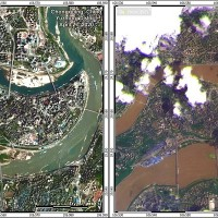 Exclusive: Satellite images show Chinese cities flooded by Yangtze River