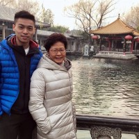 Son of sanctioned Hong Kong chief executive hurriedly left US in late July