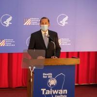 美國衛生部長台大演講 左讚台灣防疫成就、右批中國隱匿疫情