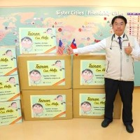 Taiwan's Tainan donates medical supplies to sister cities in US