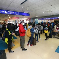 Most transit passengers in Taiwan travel between Southeast Asia, North America