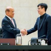 陳其邁得票率創高雄市長選舉史上最高 台灣行政院長蘇貞昌勉勵:2年當4年拚