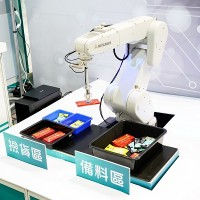 Taiwan's ITRI showcasing achievements in intelligent robot technology at exhibition