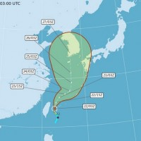 Taiwan issues sea warning as Tropical Storm Bavi takes shape