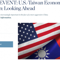 Taiwan's economic minister, US assistant secretary of state to discuss economic relations in forum