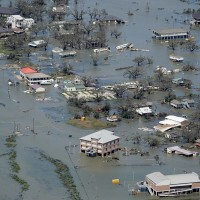 AP PHOTOS: Aerial images show stark destruction from Laura
