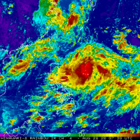 Tropical Storm Maysak expected to pass east of Taiwan