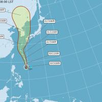 吳德榮:梅莎望成今年最強颱 北台灣受外圍環流影響有短暫陣雨