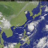 中颱梅莎逼近台灣 桃園以北防大雨 東北部當心強陣風