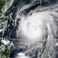 Typhoon Maysak to come closest to Taiwan today