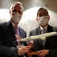 Prague mayor secures direct flight to Taipei amid visit