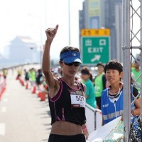 Fu first woman to win Taipei Expressway Marathon 3 consecutive times