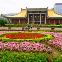 台灣國父紀念館今起休館!戶外中山公園廣場照常開放