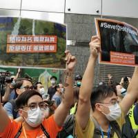 香港9.6大遊行 港警射胡椒球彈驅散 拘捕近300人